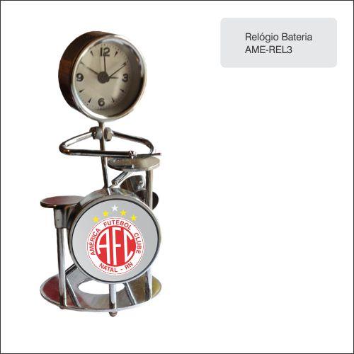 Clube America_Relógio Bateria - AME-REL3