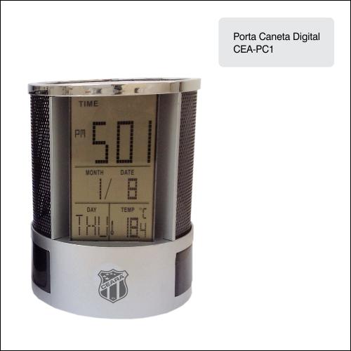 Clube  Ceará_Porta Caneta Digital - CEA-PC1