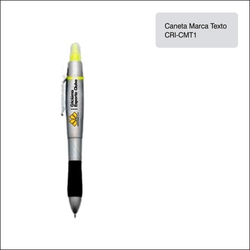 Clube Criciúma_Caneta Marca-texto - CRI-CMT1